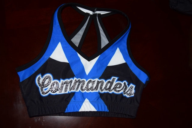 Commanders Team Sports Bra