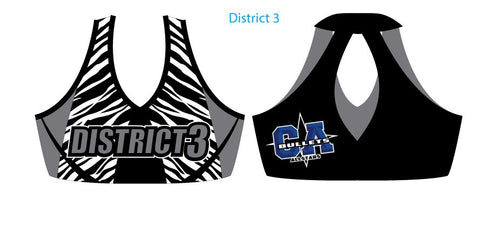 District 3 Team Sports Bra