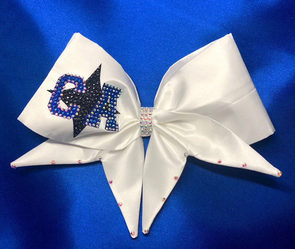 Cali White Bow
