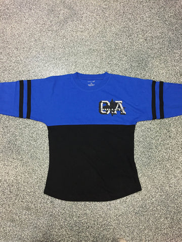California All Stars Glitter Spirit Jersey