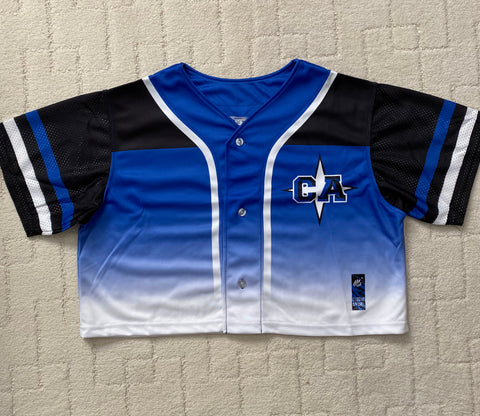 Crop Top Baseball Jersey