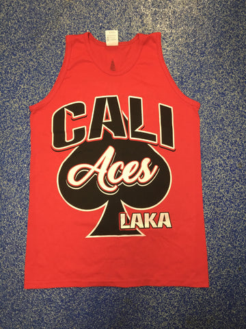 Cali Aces Red Tank