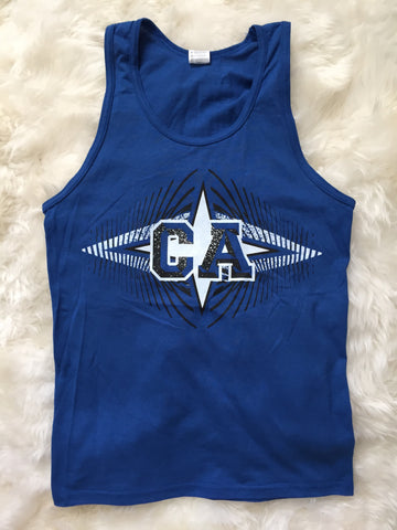 CA Vibration Blue Tank