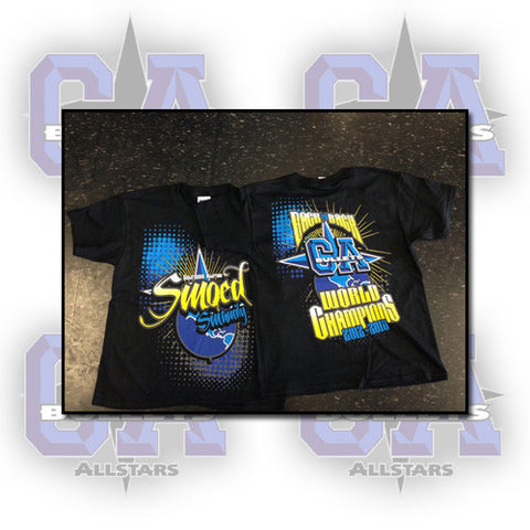 Cali SMOED Back 2 Back Smamily Shirt