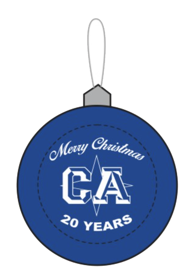 CALI Christmas Ornament