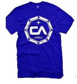 CA Blue Octagon T-shirt