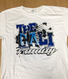 White Cali Family T-shirt