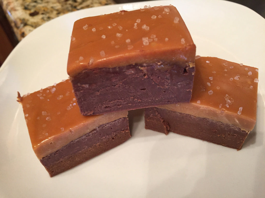 Salted Caramel Fudge