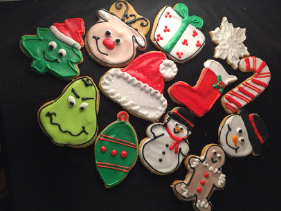 Iced Cookies
