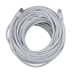 100 ft. White High Quality Cat6 550MHz UTP RJ45 Ethernet Bare Copper Network Cable