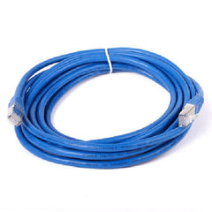 15 ft. Blue Cat7 600MHz Screened Shielded Twisted Pair (S/STP) Network Cable with Metal Connectors