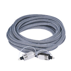 15 ft. Toslink Premium Optical Cable with Metal Connectors