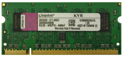 1GB DDR2 PC2-6400 (800Mhz) SODIMM Memory - Kingston - KVR800D2S5/1G