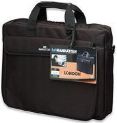 Manhattan London Laptop Briefcase - 15.4in