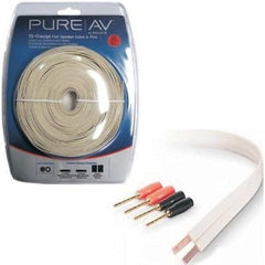 BELKIN Pure AV 30 ft. 15GA Flat Speaker Cable and Pins - 2 Conductor