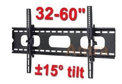 "Antra 32"" - 60"" Universal Plasma & LCD TV Wall Mount Bracket - 15° Tilting"