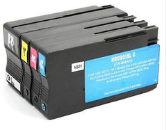 Compatible with HP 950XL BK / 951XL C/M/Y Rem. Ink Cartridge Combo High Yield