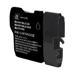 Compatible Brother LC61BK Black Compatible Ink Cartridge