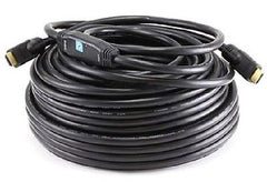 100 ft. 26AWG CL2 Standard HDMI M/M Cable w-Built-in Equalizer - Black