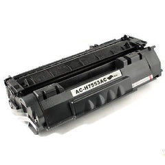 Compatible with HP 53A (Q7553A) Remanufactured Black Toner Cartridge