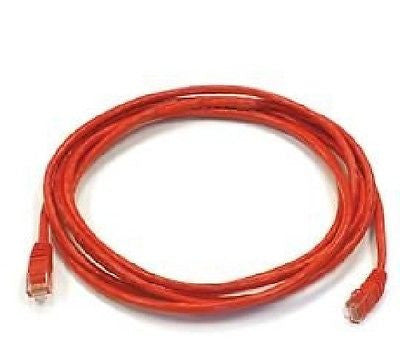 10 ft. Red High Quality Cat 6 550MHz UTP RJ45 Ethernet Bare Copper Network, Ethernet Cables (RJ-45, 8P8C), Amazetec - TiGuyCo Plus