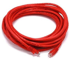 25 ft. Red High Quality Cat6 550MHz UTP RJ45 Ethernet Bare Copper Network Cabl