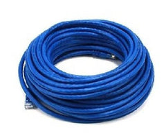 50 ft. Blue High Quality Cat 6 550MHz UTP RJ45 Ethernet Bare Copper Network Cable