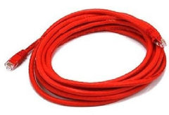 15 ft. Red High Quality Cat6 500MHz UTP RJ45 Ethernet Bare Copper Network Cable