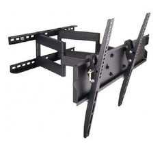 Techly 2-Arm Tilt/Swivel TV Wall Mount - 23-55 in - 70kg - VESA 400x400mm