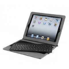82-Key Detachable Bluetooth Keyboard Ultra Light Portfolio Case for iPad, iPad 2