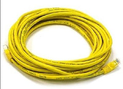 25 ft. Yellow High Quality Cat6 550MHz UTP RJ45 Ethernet Bare Copper Network Cab