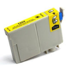 Compatible with Epson T125420 New Compatible Yellow Cartridge (T1254)
