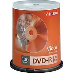 !    A    !    imation 16x DVD-R Media - 4.7GB - 2 hr Standard - 100 Pack Spindle