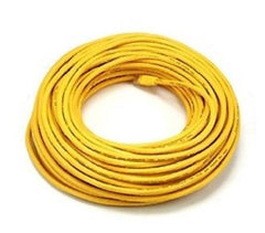 100 ft. Yellow High Quality Cat6 550MHz UTP RJ45 Ethernet Bare Copper Network Cable