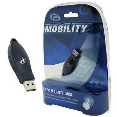 *** 75% $AVINGS! *** - iConcepts MOBILITY USB PC Security Lock, Anti-Theft Locks & Kits, iConcepts - TiGuyCo Plus
