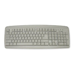 !!! Back in Stock !!! Manhattan True-Touch PS/2 Universal Azerty Keyboard - White