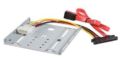 StarTech 2.5in SATA Hard Drive to 3.5in Drive Bay Mounting Kit, Drive Bay Caddies, StarTech - TiGuyCo Plus