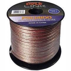 Pyle Link 100 ft. 14GA Speaker Wire - 2 Conductor