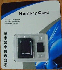32GB MicroSD HC Memory Card with Adapter