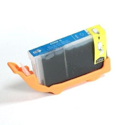 Compatible with Canon CLI-8C New Compatible Cyan Ink Cartridge (W/Chip), Ink Cartridges, n/a - TiGuyCo Plus
