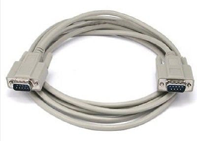10 ft. DB 9 M/M Straight Thru Molded Cable - 28 AWG, Parallel, Serial & PS/2, n/a - TiGuyCo Plus