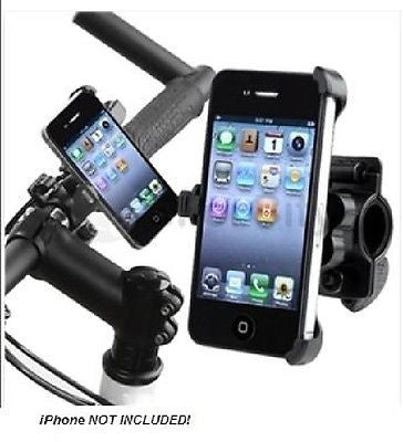 High Quality Bike Mount Holder for iPhone 4G - Black, Mounts & Holders, n/a - TiGuyCo Plus