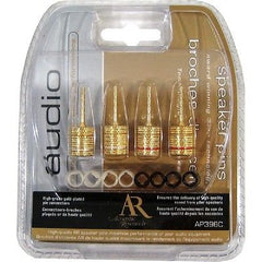Acoustic Research High-Grade Gold Plated Speaker Pin Connectors - Screw Type - P
