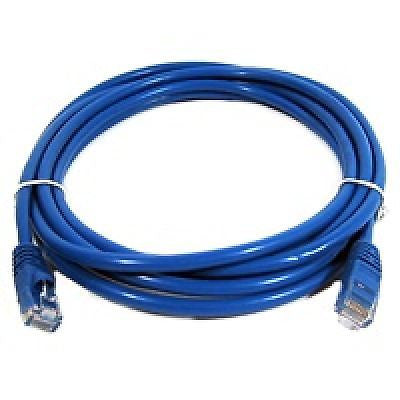 14 ft. CAT6a Shielded (10 GIG) STP Network Cable w/Metal Connectors - Blue, Ethernet Cables (RJ-45, 8P8C), Techcraft - TiGuyCo Plus