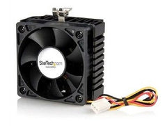 StarTech 65x60x45mm Socket 7/370 CPU Cooler Fan with Heatsink & TX3 Connector - FAN370PRO