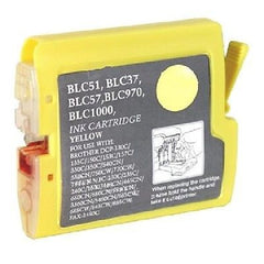 Compatible with Brother LC51Y New Compatible Yellow Ink Cartridge