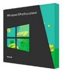 Microsoft Windows 8 Professionnel 32-BIT/64-BIT French VUP DVD - Upgrade