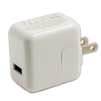 Travel USB wall charger adaptor for iPad/ iPhone/ iPod, Chargers & Cradles, n/a - TiGuyCo Plus