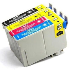 Compatible with Epson T069 COMBO PACK New Compatible -  Black/Cyan/Magenta/Yello