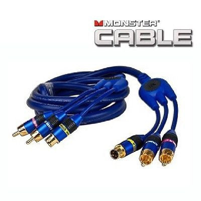 6 ft. Monster Cable CamLink 400 S-Video & 2 RCA (M) to (M) Video ...